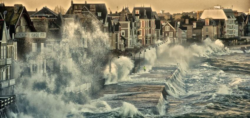 Grande marée à St Malo !